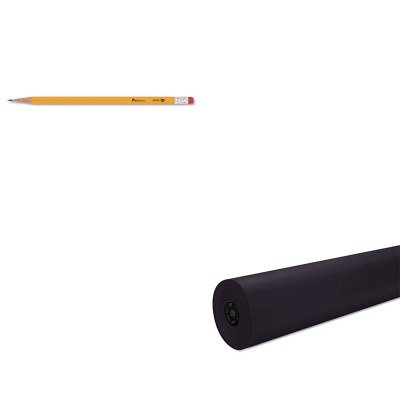 KITPAC101209UNV55400 - Value Kit - Pacon Decorol Flame Retardant Art Rolls (PAC101209) and Universal Economy Woodcase Pencil (UNV55400) by Pacon