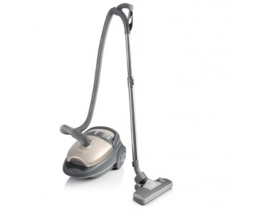 Zelmer Jupiter ZVC425HT Durable Vacuum Cleaner, Champagne, 1000 W