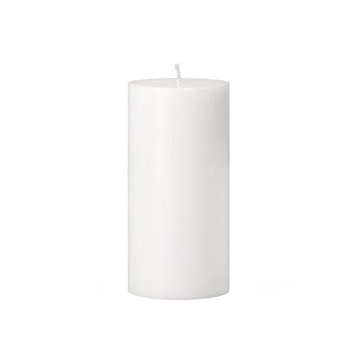 Torre & Tagus 901758B Prime Palm Wax Pillar Candle 3 by 6-Inch, White (Palm White Wax Pillar)