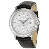 Raymond Weil Silver Dial SS Leather Automatic Men's Watch 2847-STC-30001