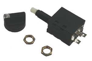 Sierra International MP78740 Marine Rotary Switch with Black Knob