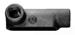 Crouse-Hinds LL75 Die Cast Aluminum Type LL Conduit Outlet Body 2-1/2 Inch Condulet by Crouse-Hinds (Image #2)