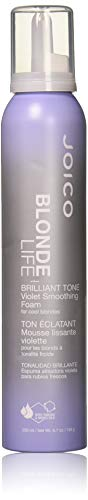 Blonde Life Brilliant Tone Violet Smoothing Foam, 6.7 Ounce