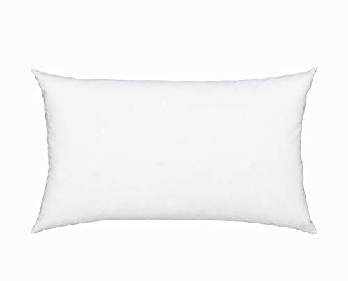 Fennco Styles Polyester Fiber White Pillow Insert - Made in USA (11