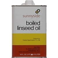 SUNNYSIDE CORPORATION 87216 1 Pint Boiled Linseed Oil