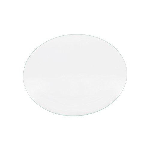 Iverntech Round Borosilicate Glass Plate for RepRap Delta Kossel 3D Printers Circular Heatbed Print Surface 220mm x 3mm
