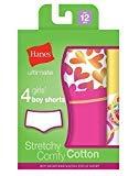 Hanes Ultimate Tagless Cotton Stretch Girls Boy Shorts 4