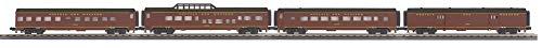 MTH 30-68114 Norfolk & Western 4-Car 60' Streamlined Passenger Set 1284