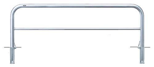 サンポール アーチ 差込式フタ付 車止めポール 直径60.5mm W2000×H650 メーカー直送 AH-7SF20-650   B07MX8ZGJT