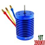Mystery 10T 3900KV Brushless Motor for 1:10/1:12 Scale Electromotion SUV/RV Car(Blue)