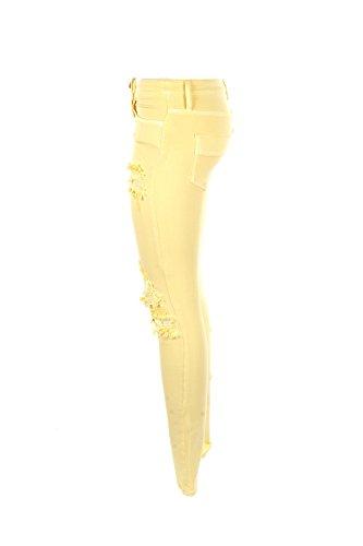 Giallo Pj14i81e2 Estate 2018 JEANS Donna FRANCHI ELISABETTA 26 Jeans Primavera PXFqxYTOw