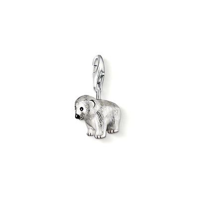 Thomas Sabo Polar Bear Charm, Sterling Silver (Sabo Thomas Jewellery)