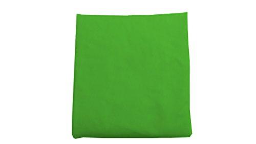 Baby Doll Bedding Solid Round Crib Sheet, Green Apple