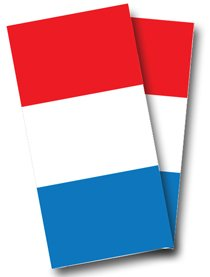 French Flag Cornhole Wrap, 24