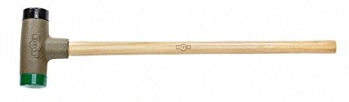 Dead Blow Sledge Replaceable Medium /& Hard Urethane Faces 3 Dia Lixie 300H-MH-35-180 Oz