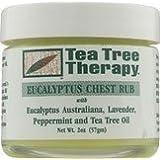 Tea Tree Therapy Inc. Eucalptus Chest Rub 2 Ounces by Tea Tree Therapy