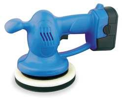 Westward 1VUB8 Auto Polisher, 18 VDC, 10 In, w/2 Bonnets by WestWard Tools (Image #1)