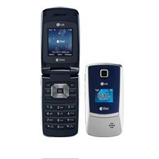 LG AX300 Flip Cell Phone - Silver - CDMA