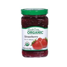 Santa Cruz Organic Strawberry Fruit Spread, 9.5 Ounce - 6 per case.