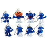 The Smurfs Plastic Toy Cell Phone Strap(8Pcs)