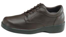(Aetrex BV2100 Ambulator Biomechanical Brown Lace Up Men's Shoes Mx11 )