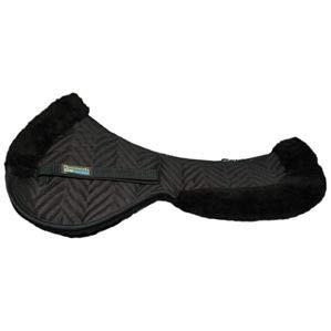 Fleeceworks Perfect Balance Wool Half Pad Black Large