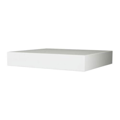 Ikea Lack Wandregal In Weiss Amazon De Kuche Haushalt