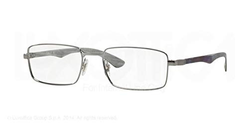 Ray-Ban Eyeglasses RX8414 2502 Gunmetal 53 18 ()