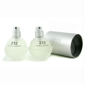 Carolina Herrera 212 NYC Eau De Toilette Spray 2x30ml/1oz