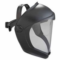 Bionic Face Shields, Hardcoat/Antifog, Clear/Black Matte (6 Pack)