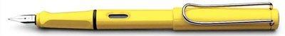 LAMY Safari Fountain Pen, Yellow, Extra-Fine Nib (L18EF)