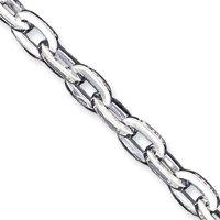 Argent Sterling 7,5 pouces Bracelet lien-Déguisement-JewelryWeb pince de homard
