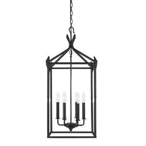 World Imports 61405-42 Classical Simplicity 6 Light Lantern, Rust