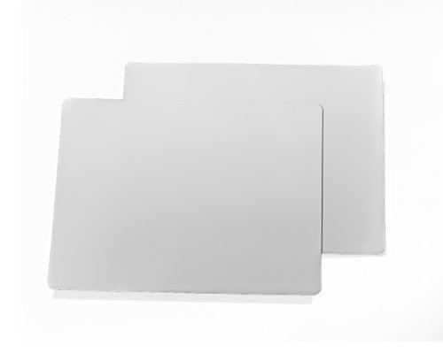 2 12 x24 30 mil matte whitte car sign blanks for 12 x 24 car door magnets