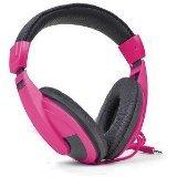 DGL VS-750-DJ-PINK Vibe Stereo Headphones, Pink