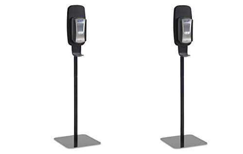 PURELL 2425DS LTX or TFX Touch-Free Dispenser Floor Stand, Black, 23 3/4 x 16 3/5 x 5 29/100 (Pack of 2) by Purell (Image #2)