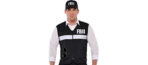 Forensics Vest and Hat Law Enforcement FBI Fedearal