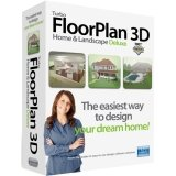 Turbofloorplan Deluxe V16 2D/3D Home Design (Easy Home Design Software)
