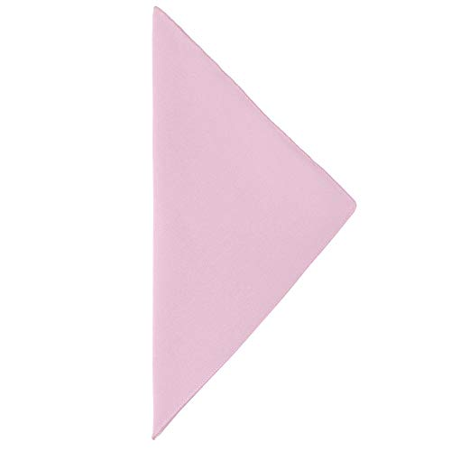 Ultimate Textile -3 Dozen- Cotton-Feel 17 x 17-Inch Cloth Napkins, Light Pink by Ultimate Textile (Image #2)