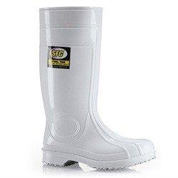 Chaussures pour Crews 2007–09–41/7/8Bottes en caoutchouc, taille: 7UK, Blanc