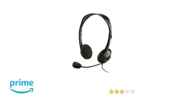 LogiLink HS0002 Auriculares est/éreo con micr/ófono