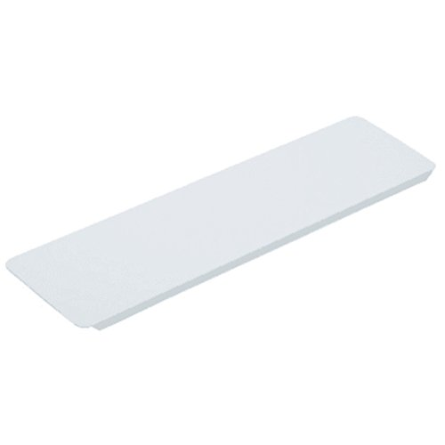 HEDY4LESS 3-5/8W x 13-3/8'' Replacement Medicine Cabinet White Metal Shelf 1PCS by HEDY4LESS