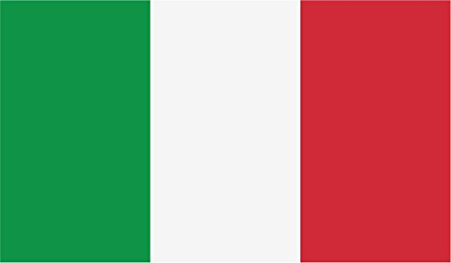 JMM Industries Italy Flag Vinyl Decal Sticker Repubblica Italiana Italian Car Window Bumper 2-Pack 5-Inches by 3-Inches Premium Quality UV-Resistant Laminate PDS452
