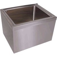 (BK Resources BKMS-1620-6 Stainless Steel Floor Mount Mop Sink 20