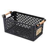 Orbinni Toilet - Icebox Hoop Refrigerator Basket Kitchen Tools & Gadgets - Plastic Kitchen Refrigerator Basket Fridge Storage Rack Freezer Shelf Holder Bathroom Desktop Storage Box - Field Goal Basketful - 1PCs