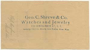 small-sheet-of-retailers-wrapping-paper-stamped-geo-c-shreve-co-watches-and-jewelry-110-montgomery-s