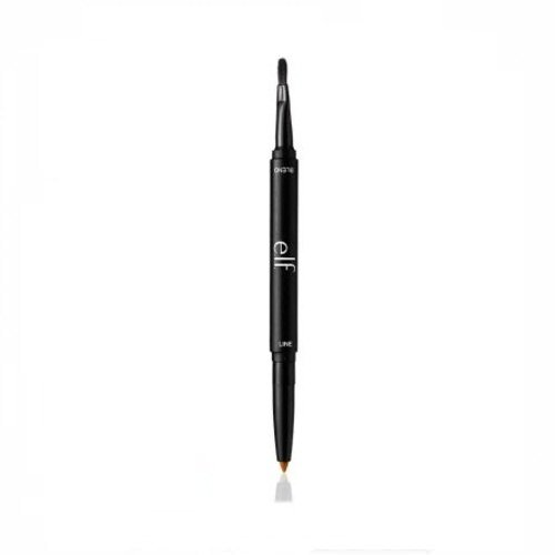 e.l.f. Lip Liner & Blending Brush Dark Brown, .01 oz