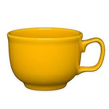 Homer Laughlin 149-342 18 oz Jumbo Mug, Daffodil