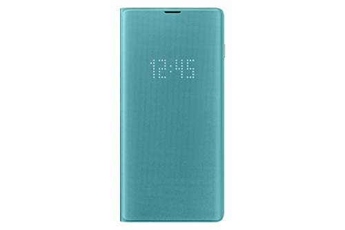 Samsung Galaxy S10+ LED Wallet Case, Green (Renewed)