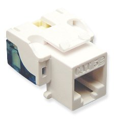 ICC IC107E5CWH - 25PK Cat5 Jack - White by ICC